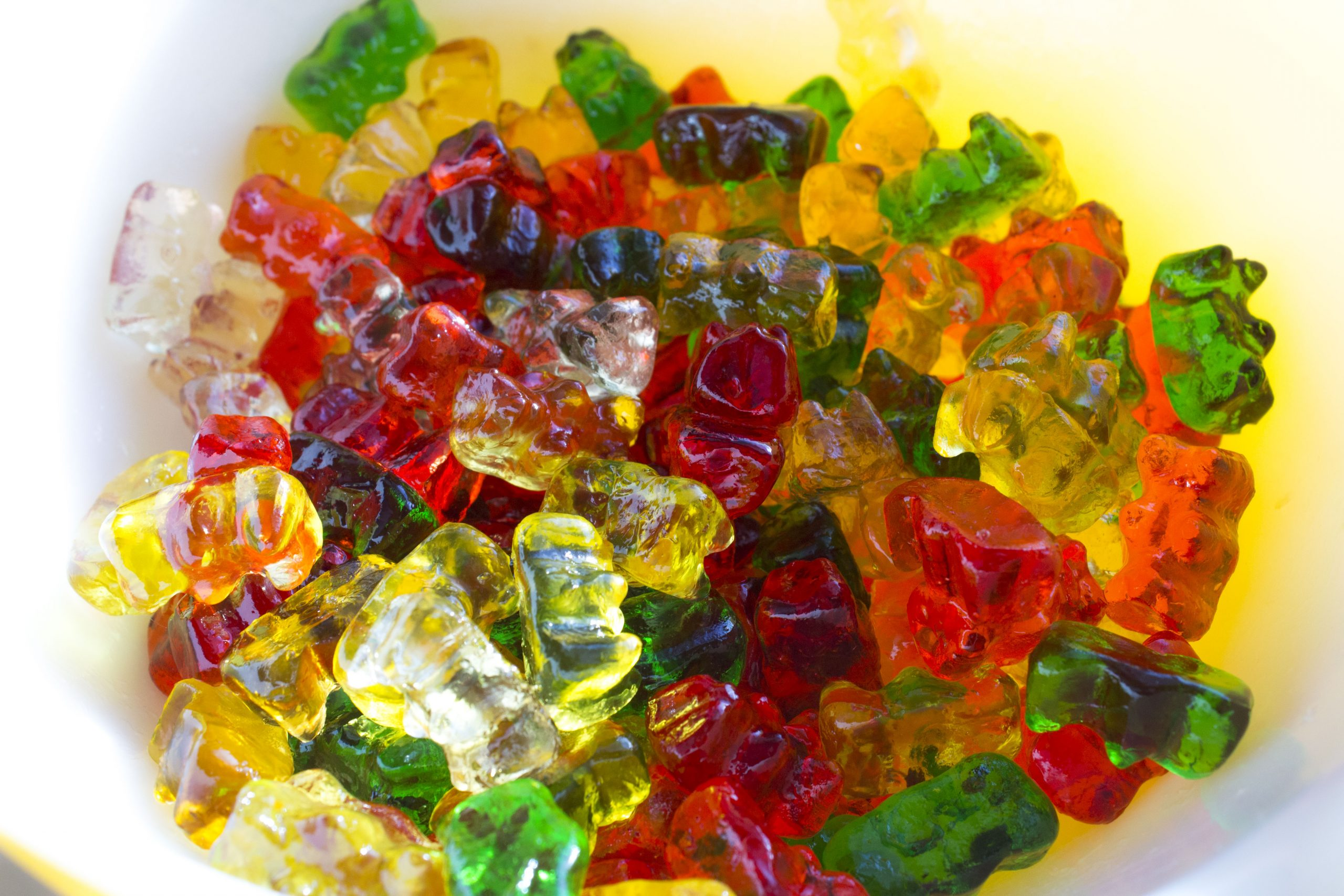 Quarantine Gummy Bears in Bowl