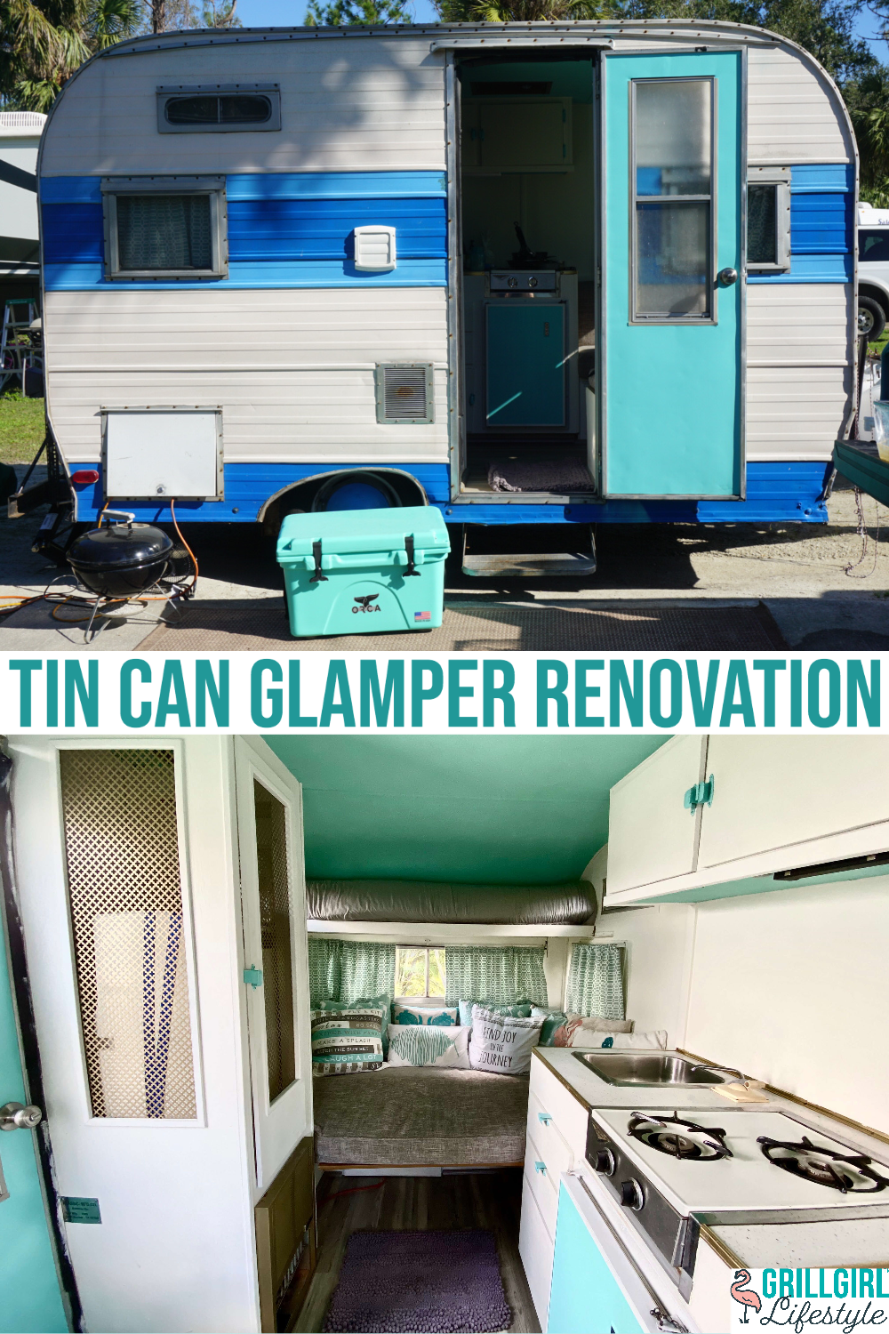 Tin Can Glamper Reno - outside